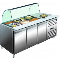Desserte réfrigérée 3 portes + saladette GN 3100 TNS