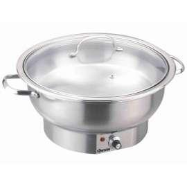 Chafing dish électrique rond Bartscher 500835