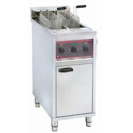 Friteuse électrique sur coffre 2 x 10 L