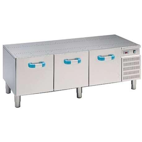 Soubassement réfrigéré MBM 3 tiroirs