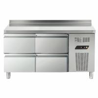 Table réfrigérée 4 tiroirs ECRY615C4