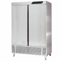 Armoire réfrigérée inox professionnelle 2 portes 1400 litres pour CHR