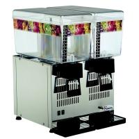 Santos 34-2, distributeur réfrigéré 2 bacs 12 litres
