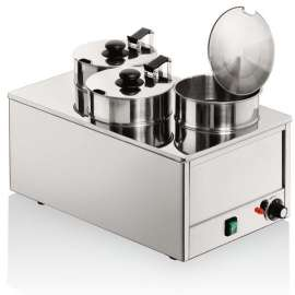 Marmite bain-marie triple professionnelle Tellier N8075