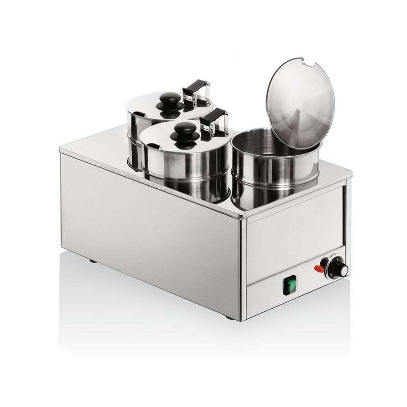 Bain marie triple marmites inox louis tellier - Cuisson au bain marie ...
