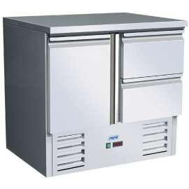 Desserte réfrigérée 1 porte +2 tiroirs VIVIA S901