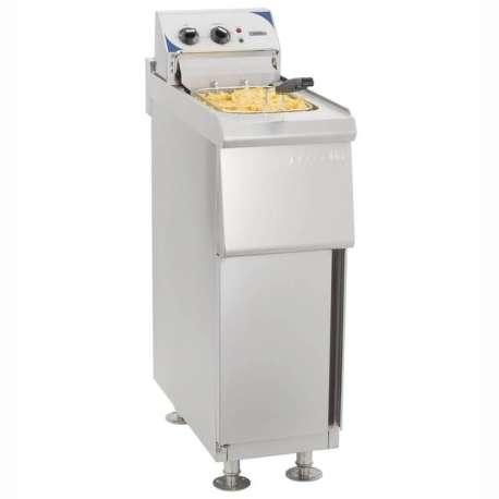 Friteuse électrique Casselin sur coffre 10 litres haut rendement
