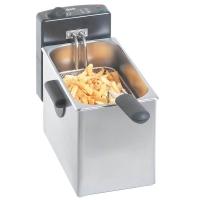 Friteuse électrique Bartscher 4 litres en acier inoxydable