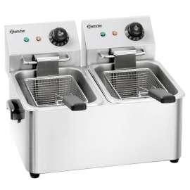 Friteuse électrique Bartscher 2x4 litres SNACK II