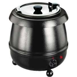 Marmite à soupe noire TELLIER N8080