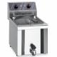 Friteuse électrique (400V) 12 L MBM à poser - AVEC vidange