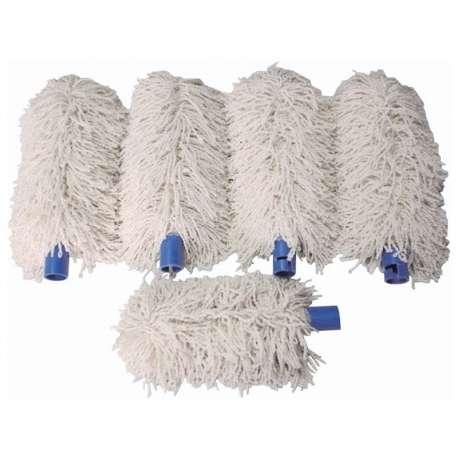 Bartscher set de 5 chiffons de tête pour machine à essuyer