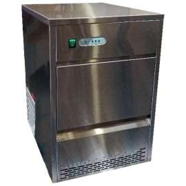 Machine à glaçons creux 26kg/24h stock 6 kg