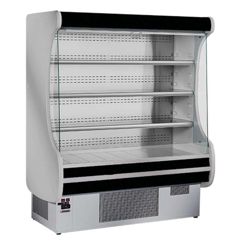 vitrine r frig r e artico avec rideau de nuit 1200 mm. Black Bedroom Furniture Sets. Home Design Ideas