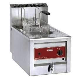Friteuse professionnelle à poser - gaz - 12 litres