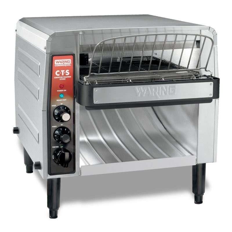 Grille pain professionnel waring convoyeur 1200 - Machine a couper le pain professionnel ...