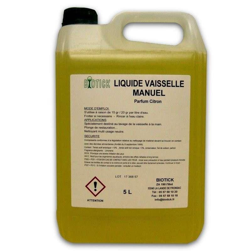Liquide vaisselle plonge manuelle pro produits de lavage chr for Vaisselle restaurant professionnel