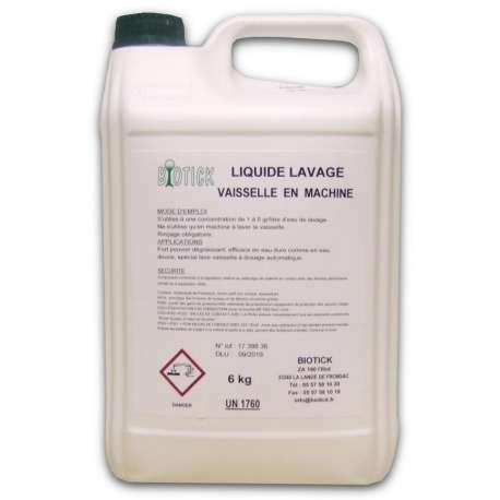 Liquide lavage machine professionnel Biotick