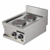 Réchaud 2 plaques électriques gamme SMART 600