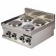 Réchaud 4 plaques électriques Italinox
