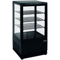 Mini vitrine noire réfrigérée 70L modèle SC70