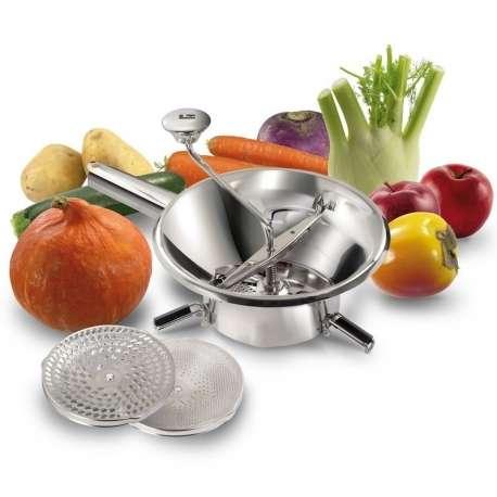 Moulin à légumes inox ø 24 cm Tellier