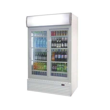 Vitrine réfrigérée portes en verre 0°/+10°C