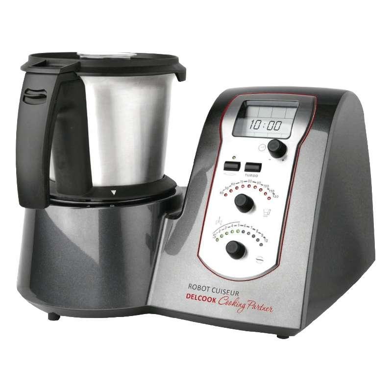 Robot cuiseur professionnel delcook de delcoupe ou mycook for Robot cuisine professionnel