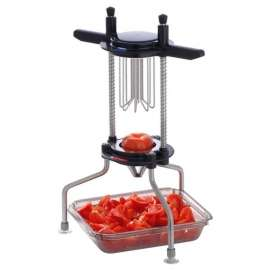 Coupe-tomates et agrumes 6 sections en inox Tellier