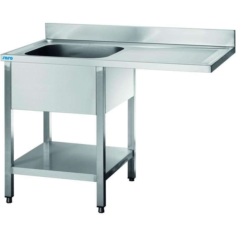Plonge inox professionnelle prof 700 avec passage lave for Machine plonge restaurant