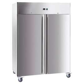 Armoire froide double portes inox -2°C/+8°C