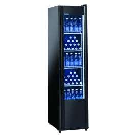 Armoire à boissons porte vitrée 300 litres éclairage LED