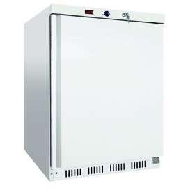 Armoire froide négative laqué blanc 200 litres 18-22°C