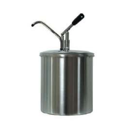 Distributeur de sauces|piston|portion de 40 ml 10 litres