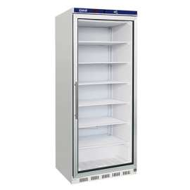 Armoire 600 L froid négative vitrée