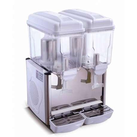 Distributeur de boissons réfrigérées 2 x 12 litres