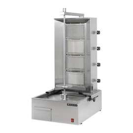 Appareil à döner kebab gaz 80 kg / jour