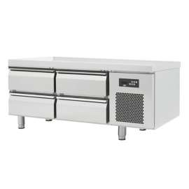 Soubassement réfrigéré 4 tiroirs, prof 600