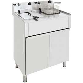 Friteuse électrique double cuve 12 litres