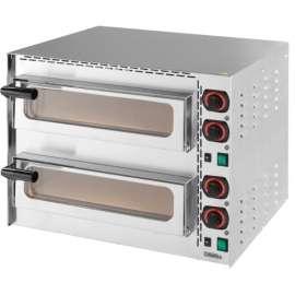 Four à pizzas professionnel Casselin 400°C 2 chambres