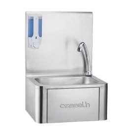 Lave-mains Casselin commande femorale et distributeur de savon